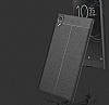 Dafoni Liquid Shield Premium Sony Xperia XA1 Ultra Gri Silikon Kılıf - Resim 4