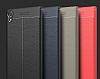 Dafoni Liquid Shield Premium Sony Xperia XA1 Ultra Gri Silikon Kılıf - Resim 6