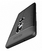 Dafoni Liquid Shield Premium Sony Xperia XZ2 Gri Silikon Kılıf - Resim 1