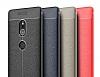 Dafoni Liquid Shield Premium Sony Xperia XZ2 Gri Silikon Kılıf - Resim 3