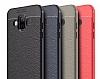 Dafoni Liquid Shield Premium Samsung Galaxy J7 Duo Kırmızı Silikon Kılıf - Resim 2