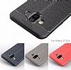 Dafoni Liquid Shield Premium Samsung Galaxy J7 Duo Kırmızı Silikon Kılıf - Resim 1