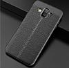 Dafoni Liquid Shield Premium Samsung Galaxy J7 Duo Siyah Silikon Kılıf - Resim 4