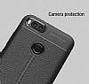 Dafoni Liquid Shield Premium Xiaomi Mi 5X / Mi A1 Siyah Silikon Kılıf - Resim 2