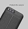 Dafoni Liquid Shield Premium Xiaomi Mi 6 Siyah Silikon Kılıf - Resim 5