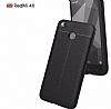 Dafoni Liquid Shield Premium Xiaomi Redmi 4X Kırmızı Silikon Kılıf - Resim 4