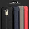 Dafoni Liquid Shield Premium Xiaomi Redmi 5 Lacivert Silikon Kılıf - Resim 3