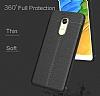 Dafoni Liquid Shield Premium Xiaomi Redmi 5 Lacivert Silikon Kılıf - Resim 2