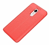 Dafoni Liquid Shield Premium Xiaomi Redmi 5 Kırmızı Silikon Kılıf - Resim 4