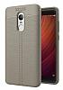 Dafoni Liquid Shield Premium Xiaomi Redmi Note 4 / Redmi Note 4x Gri Silikon Kılıf