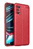 Dafoni Liquid Shield Realme 7 Pro Ultra Koruma Kırmızı Kılıf