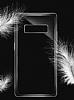 Dafoni Membrane Samsung Galaxy Note 8 Ultra İnce Şeffaf Silikon Kılıf - Resim 3