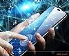 Dafoni Oppo A74 4G Tempered Glass Premium Full Cam Ekran Koruyucu - Resim 2