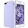 Dafoni Orjinal Series iPhone 7 Plus / 8 Plus Mor Silikon Kılıf - Resim 1