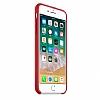 Dafoni Orjinal Series iPhone 7 Plus / 8 Plus Kırmızı Silikon Kılıf - Resim 1