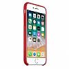 Dafoni Orjinal Series iPhone 7 / 8 Kırmızı Silikon Kılıf - Resim 2