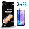 Dafoni iPhone XR Full Mat Nano Premium Siyah Ekran Koruyucu