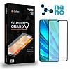 Dafoni Realme 6i Full Mat Nano Glass Premium Cam Siyah Ekran Koruyucu