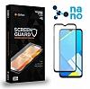 Dafoni Realme C2 Full Mat Nano Premium Siyah Ekran Koruyucu