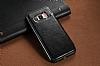 Dafoni Retro Samsung Galaxy S8 Plus Cüzdanlı Siyah Rubber Kılıf - Resim 1