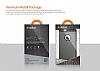 Dafoni Samsung Galaxy A5 Kırmızı Kılıf ve Eiroo Cam Ekran Koruyucu Seti - Resim 1