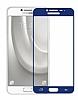 Dafoni Samsung Galaxy C5 Pro Curve Tempered Glass Premium Full Lacivert Cam Ekran Koruyucu - Resim 6