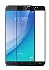 Dafoni Samsung Galaxy C7 Pro Curve Tempered Glass Premium Full Siyah Cam Ekran Koruyucu - Resim 6