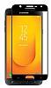 Dafoni Samsung Galaxy J4 Curve Nano Glass Premium Cam Siyah Ekran Koruyucu - Resim 1