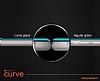 Dafoni Samsung Galaxy J4 Curve Nano Glass Premium Cam Gold Ekran Koruyucu - Resim 2