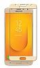 Dafoni Samsung Galaxy J6 Curve Nano Glass Premium Cam Siyah Ekran Koruyucu - Resim 1