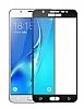 Dafoni Samsung Galaxy J7 / Galaxy J7 Core Curve Tempered Glass Premium Full Siyah Cam Ekran Koruyucu - Resim 5