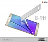 Dafoni Samsung Galaxy Note 5 Tempered Glass Ayna Gold Cam Ekran Koruyucu - Resim: 1