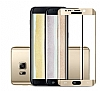 Dafoni Samsung Galaxy Note 7 Curve Tempered Glass Premium Gold Full Cam Ekran Koruyucu - Resim: 1