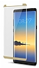 Dafoni Samsung Galaxy Note 8 Curve Tempered Glass Premium Full Gold Cam Ekran Koruyucu - Resim 8
