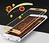 Dafoni Samsung Galaxy Note Edge Curve Tempered Glass Premium Gold Cam Ekran Koruyucu - Resim: 8