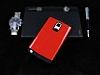 Dafoni Samsung Galaxy Note Edge Slim Power Ultra Koruma Kırmızı Kılıf - Resim 1