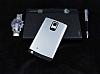 Dafoni Samsung Galaxy Note Edge Slim Power Ultra Koruma Silver Kılıf - Resim 1