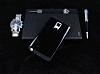 Dafoni Samsung Galaxy Note Edge Slim Power Ultra Koruma Siyah Kılıf - Resim 1