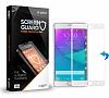 Dafoni Samsung Galaxy Note Edge Curve Tempered Glass Premium Beyaz Cam Ekran Koruyucu