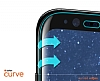 Dafoni Samsung Galaxy S9 Curve Tempered Glass Premium Full Siyah Cam Ekran Koruyucu - Resim 3