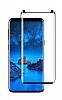 Dafoni Samsung Galaxy S9 Plus Curve Tempered Glass Premium Full Siyah Cam Ekran Koruyucu - Resim 6