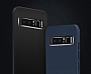 Dafoni Shade Galaxy J7 Prime Kamera Korumalı Lacivert Rubber Kılıf - Resim 3