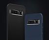 Dafoni Shade Galaxy J7 Prime Kamera Korumalı Kırmızı Rubber Kılıf - Resim 3