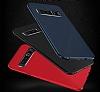 Dafoni Shade Huawei P9 Lite Kamera Korumalı Kırmızı Rubber Kılıf - Resim 2