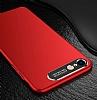 Dafoni Shade iPhone 7 / 8 Kamera Korumalı Kırmızı Rubber Kılıf - Resim 2
