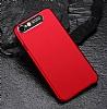Dafoni Shade iPhone 7 / 8 Kamera Korumalı Kırmızı Rubber Kılıf - Resim 3
