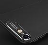 Dafoni Shade iPhone 7 / 8 Kamera Korumalı Siyah Rubber Kılıf - Resim 2