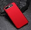 Dafoni Shade iPhone 7 Plus / 8 Plus Kamera Korumalı Kırmızı Rubber Kılıf - Resim 3