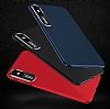 Dafoni Shade iPhone 7 Plus / 8 Plus Kamera Korumalı Kırmızı Rubber Kılıf - Resim 1