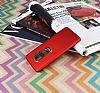 Dafoni Shade Samsung Galaxy S9 Kamera Korumalı Kırmızı Rubber Kılıf - Resim 1